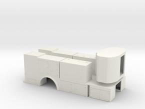1/50th Fuel Lube Service Body in White Natural Versatile Plastic