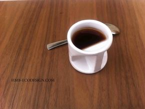expresso coffee cup Father's day  in White Natural Versatile Plastic