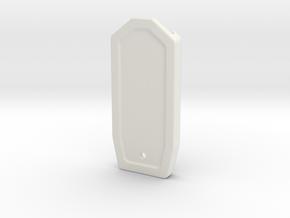 10-M-09 Type-EN-00 Engraved in White Natural Versatile Plastic