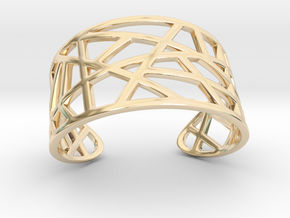 POLLY cuff bracelet  in 14K Yellow Gold