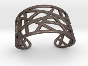 POLLY cuff bracelet  in Stainless Steel