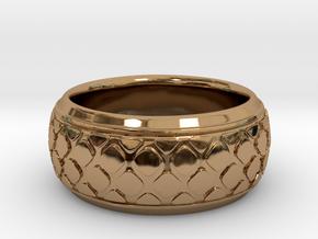 PATTI bangle  in Polished Brass