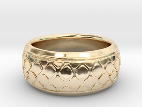 PATTI bangle  in 14K Yellow Gold