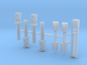 HO_Signaux de sol simplifiés (4ex) 150820  in Smooth Fine Detail Plastic
