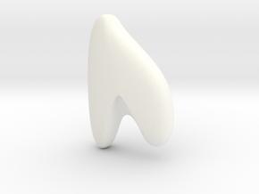 RUNE - U in White Processed Versatile Plastic