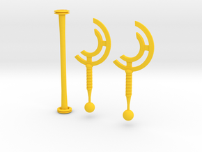 cyclone blades in Yellow Strong & Flexible Polished