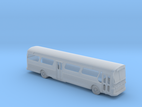 GM FishBowl Bus Open Windows - Nscale in Smooth Fine Detail Plastic