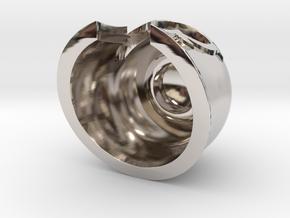 Magnet Helmet in Platinum