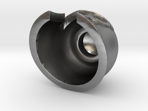 Magnet Helmet in Natural Silver
