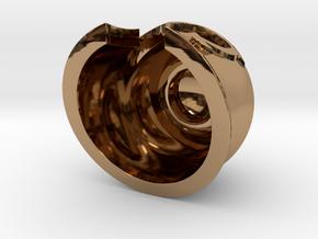 Magnet Helmet in Polished Brass