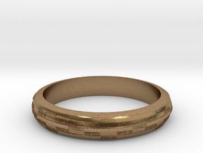Ring Hilly special in Natural Brass