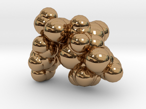 amoxicillin_space_fill in Polished Brass