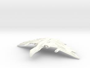 WarBird in White Processed Versatile Plastic