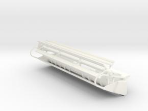 L/M 20 Foot Rigid Header in White Processed Versatile Plastic