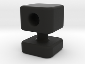 Knob 13 in Black Natural Versatile Plastic