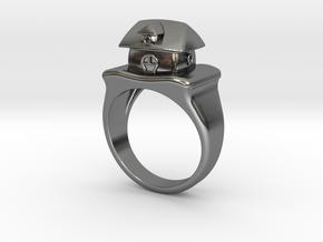 Cute House Ring in Premium Silver