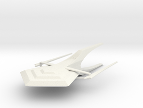 Battleship Utah in White Natural Versatile Plastic