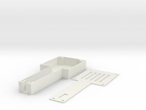 1.2G/1.3G 4CH 200mW Wireless VTx Tray in White Strong & Flexible