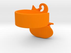 Fairytale Pumpkin Ring in Orange Processed Versatile Plastic: 5 / 49