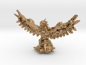 Phoenix Miniature in Polished Brass