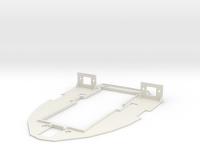 FX-61 Phantom Main Tray in White Strong & Flexible