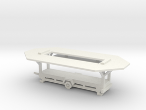 Verkaufswagen - 1:160 (N scale) in White Natural Versatile Plastic