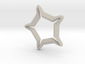 Star In A Star Sci-fi Smooth in Natural Sandstone
