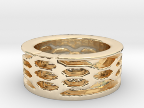 fabolous ring  in 14K Yellow Gold