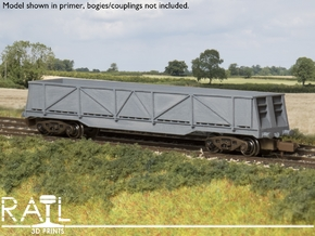 N Scale - JXA/PXA Sheerness Scrap Wagon in Smooth Fine Detail Plastic