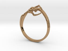 Mermaid Bracelet  in Polished Brass