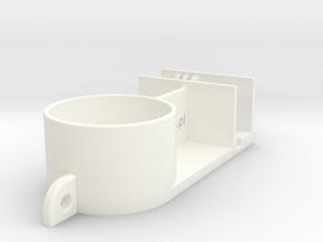 DJI Phantom 3 Gimbal Lock - Lens Cap in White Strong & Flexible Polished