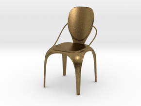 Spring chair in Natural Bronze