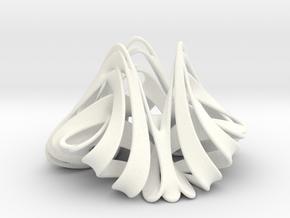 Trochotrisk (2 in) in White Processed Versatile Plastic