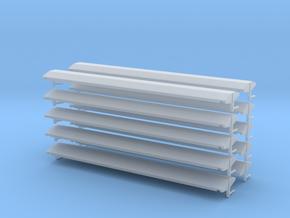 Dach für Perlkieswagen der ÖBB in 1:160 (10stk.) in Smooth Fine Detail Plastic