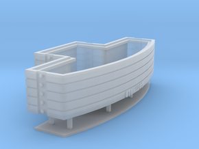 Amk306 1-87 Ballast in Smooth Fine Detail Plastic