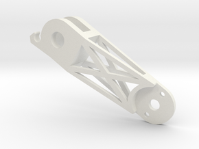 Arms Front Right (YD-5C) in White Natural Versatile Plastic