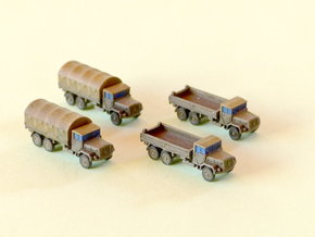 German 7to Truck KHD Jupiter Cargo 1/285 6mm in Smooth Fine Detail Plastic