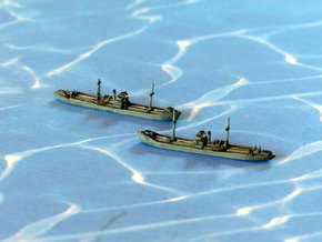 German WWII Hansa Type 3000 Freighter 1/1800  in Smooth Fine Detail Plastic