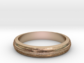 Ring Hilly Full in 14k Rose Gold Plated Brass
