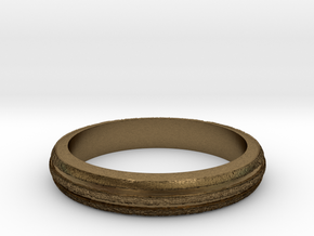 Ring Hilly Full in Natural Bronze