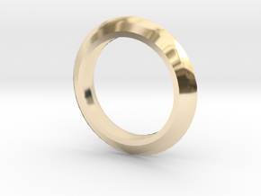 Edge Ring MIC in 14K Gold