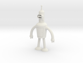Bender in White Natural Versatile Plastic