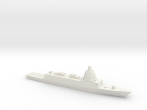 ESPS F-110 Frigate, 1/1800 in White Natural Versatile Plastic
