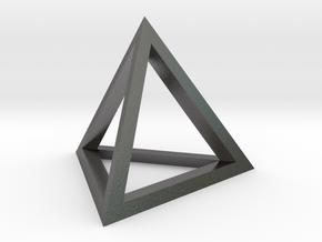 pyramid in Polished Nickel Steel