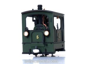 1:87 Tramway Loco no.5 Backer & Rueb in Smooth Fine Detail Plastic