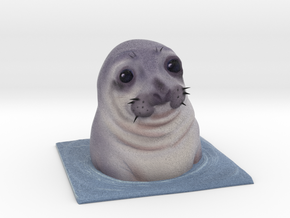 Awkward Moment Seal  in Full Color Sandstone