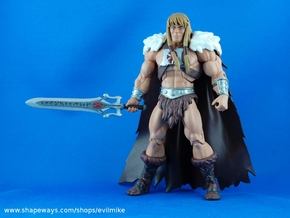 Rune Powersword in White Processed Versatile Plastic