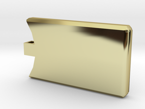 The Shining Identity in 18k Gold