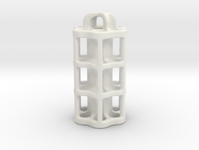 Tritium Lantern 5C (3x25mm Vials) in White Natural Versatile Plastic