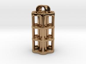 Tritium Lantern 5C (3x25mm Vials) in Polished Brass